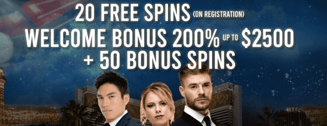 ★ 20 Free Spins on Sign up at Dream Vegas