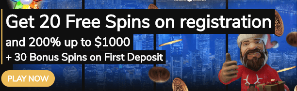 ★ 20 Free Spins on Registration at Jackpot Village