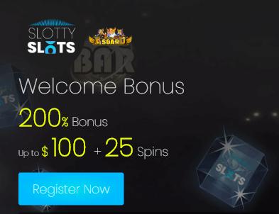 ★ 200% First Deposit Bonus up to C$100 + 25 Free Spins on Asgard at Slotty Slots