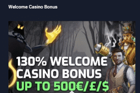 ★ 130% Welcome Bonus up to C$500 at Evobet