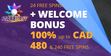 ★ 24 No Wagering Free Spins on Sign Up + Welcome Package of up to C$480 and 240 Free Spins at 24Bettle Casino