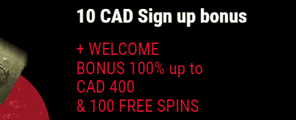 ★ 100% First Deposit Bonus up to C$400 + 100 Free Spins at b-Bets Casino