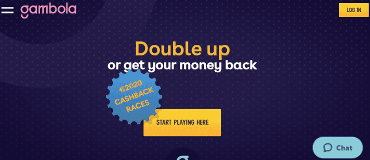 ★ 100% Cashback Bonus up to C$40 at Gambola