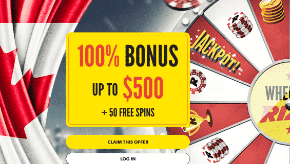 ★ 100% Welcome Bonus up to C$500 + 50 Free Spins at Rizk Casino