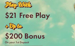 ★ C$21 on sign up + 100% First Deposit Bonus up to C$200  at 777 Casino