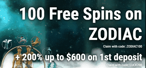 ★ 100 Sign-Up Free Spins on Zodiac at Jumba Bet