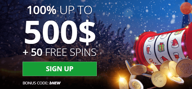 ★ First Deposit Bonus of 100% up to C$500 + 50 Free Spins at bCasino