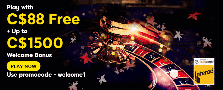 ★ C$88 Free Sign-up Bonus + Welcome Bonus up to C$1500 at 888casino