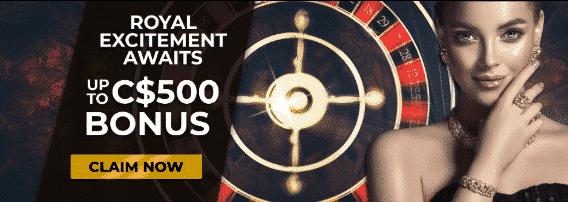 ★ Welcome Bonus up to C$500 at Regent Casino