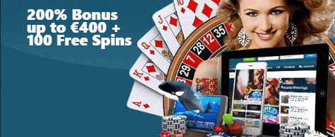 ★ 200% First Deposit Bonus up to C$400 + 100 Free Spins at VIPSpel