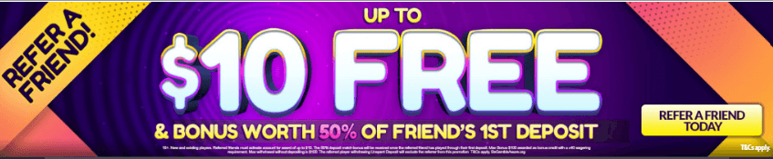 ★ Refer a Friend Bonus: C$10 + 50% at Spin247