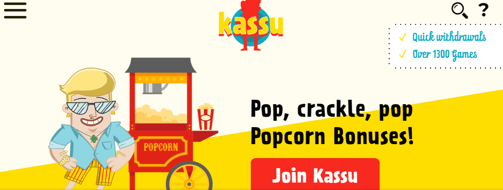 ★ Welcome Bonus up to C$1500 and 300 Free Spins at Kassu Casino