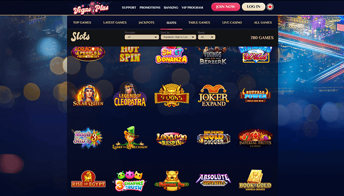 VegasPlus Casino Slots Preview