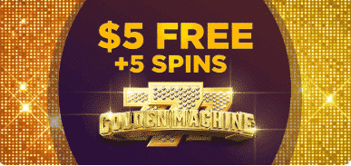 ★ No Deposit Bonus of C$5 + 5 Free Spins and 100% Welcome Offer up to C$300 at MegaVegas