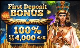 ★ 100% up to C$4000 First Deposit Bonus at Cleopatra Casino
