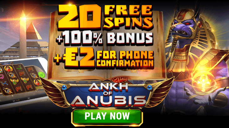 ★ Welcome Package: 20 Free Spins on Ankh of Anubis + 100% up to C$200 at Argo Casino