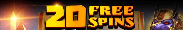 ★ 20 No Deposit Free Spins on Ankh of Anubis at Argo Casino