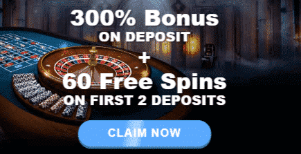 ★ 300% Welcome Bonus plus 60 Free Spins at Rich Casino