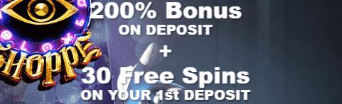 ★ 200% Welcome Bonus + 30 Free Spins at Rich Casino