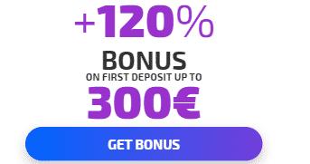 ★ First Deposit Bonus of 120% up to C$300 at iviCasino