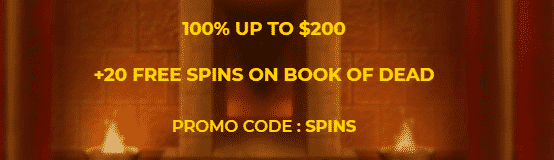 ★ 20 Free Spins on Book of Dead + 100% Welcome Bonus up to C$200 at SlotSite