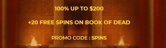 ★ Welcome Bonus: 100% up to C$200 at SlotSite