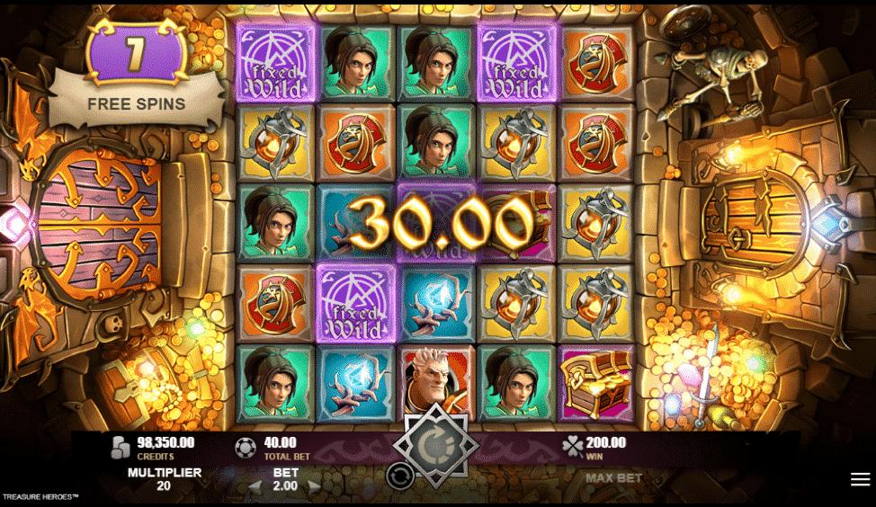 Heroes Realm Slot Machine