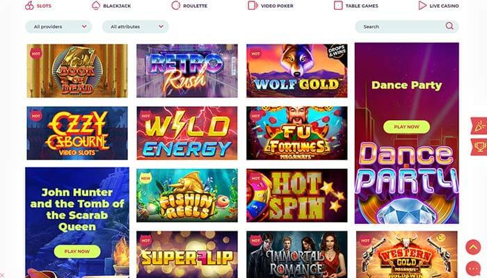 Maneki Casino Games Preview