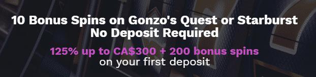 ★ 125% First Deposit Bonus up to C$300 + 200 Free Spins at 21Prive Casino