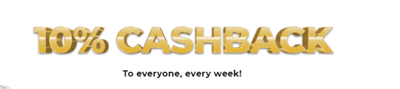 ★ 10% Weekly Cashback Bonus at Mr Gold