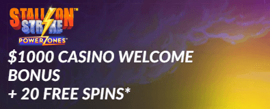 ★ 20 Sign-up Spins on Stallion Strike + C$1000 Welcome Package at SIA Casino