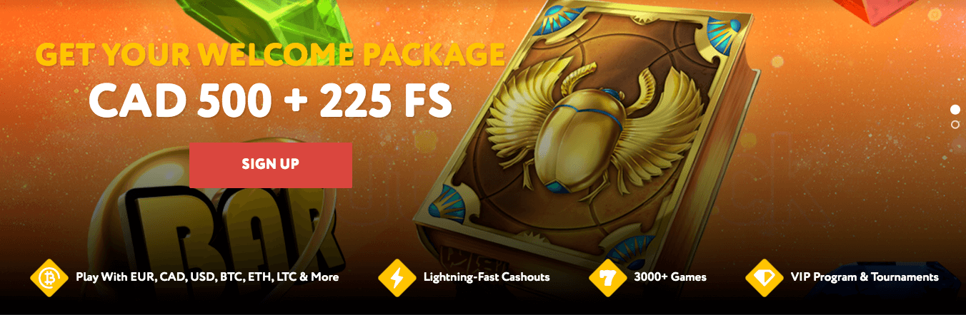 ★ C$500 Welcome Package + 225 Free Spins at BetsEdge Casino