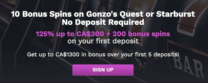 ★ 10 Free Spins on Sign Up + C$1300 + 200 Free Spins Welcome Package at 21Prive Casino