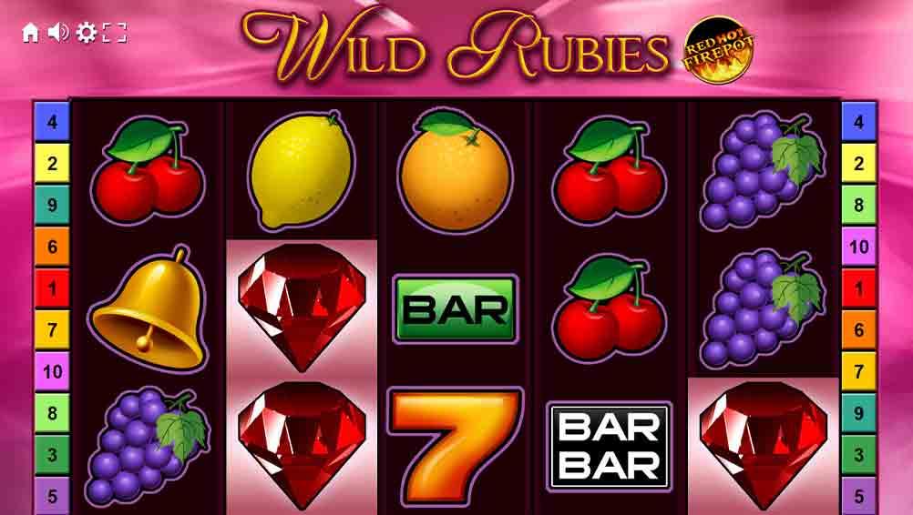 Wild Rubies Slot Machine