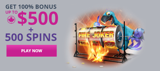 ★ Welcome Package of up to C$500 + 500 Free Spins at Karamba
