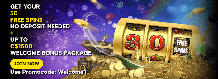★ 30 Free No Deposit Spins + C$1500 Welcome Package at 888casino
