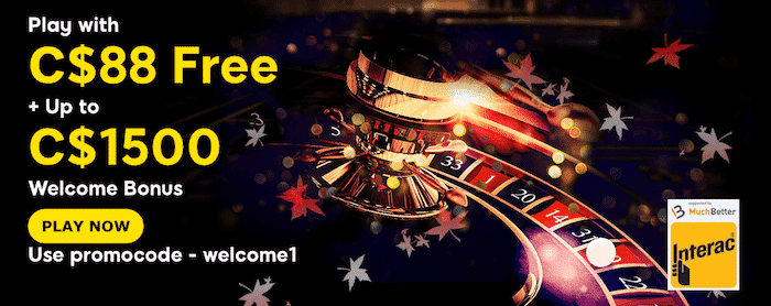 ★ C$88 Free Sign-Up Bonus + Welcome Package up to C$1500 at 888casino
