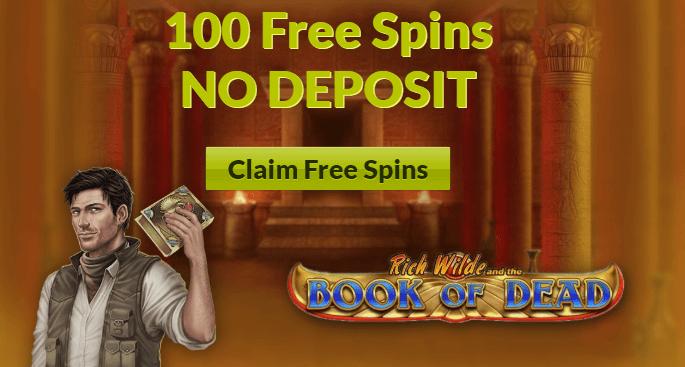 ★ C$1 No Deposit Bonus as 100 Spins on Book of Dead at SlotJoint