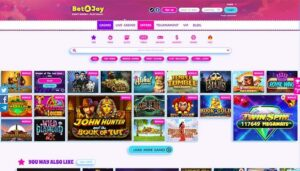 Bet4joy Top Games Preview