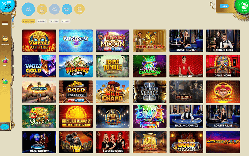 Casino Lab Games Preview