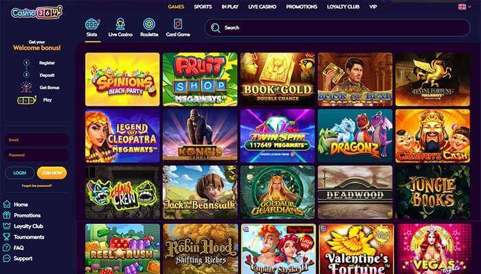 Casino360 Slots Preview