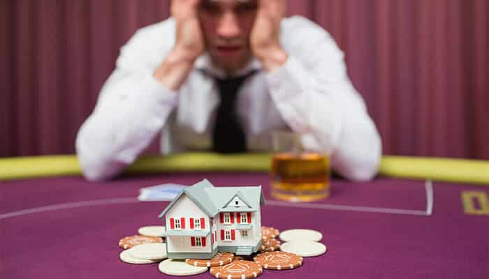 Financial signs of gambling addiction