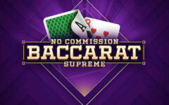 Baccarat Supreme for free