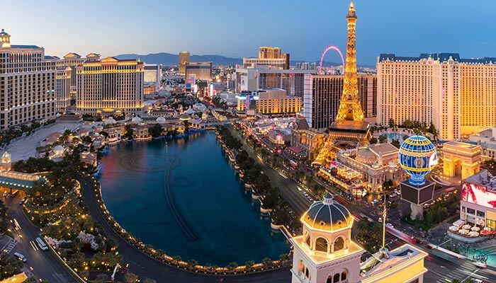 Top 5 Gambling Destinations - Las Vegas
