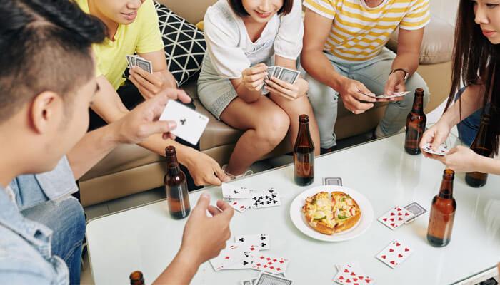 What is teenage gambling