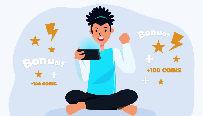 Attractive Bonuses attract young gamblers