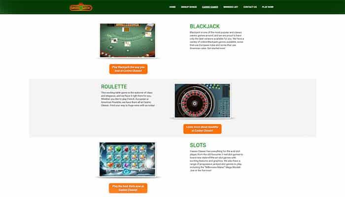 Casino Classic Games Preview