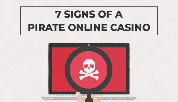 7 signs of pirate online casino