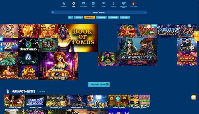 Casinodep Games Preview