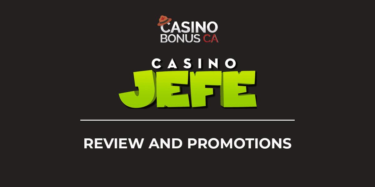 Casino Jefe Bonus Codes 2021